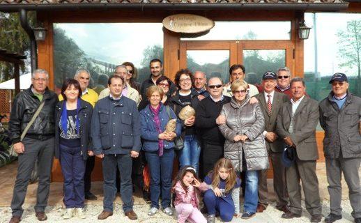 L'associazione Demetra di Calvi Risorta in gita turistica a Roma. Gemellaggio con l'associazione Volontari Capitano Ultimo