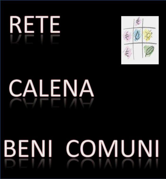 """La Rete Calena Beni Comuni raggiunge un primo traguardo: il Comune di Pignataro Maggiore aderirà alla rete """"Rifiuti Zero""""."""