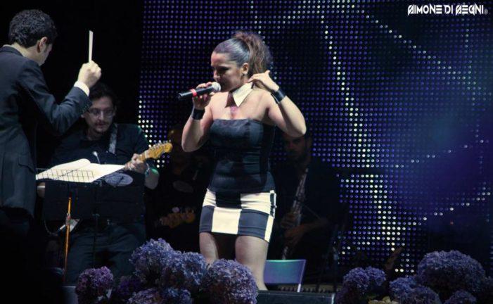 """Baiano: Rosa Chiodo protagonista indiscussa del """"Festival Città di Baiano"""" concorso canoro del patron Carlo Sarno"""