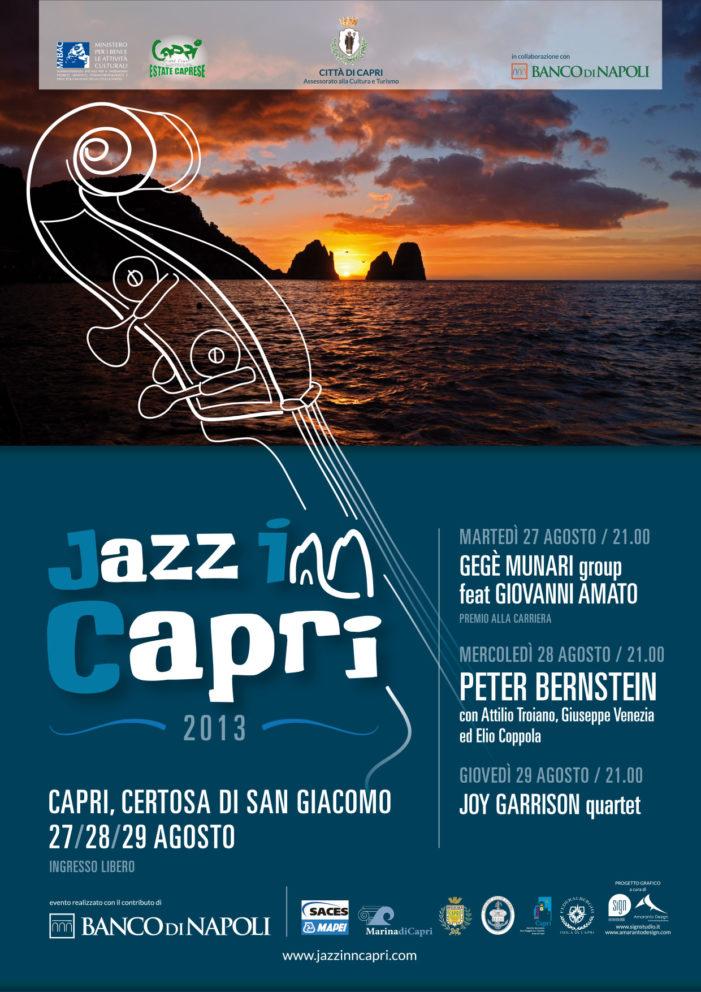 """Peter Bernstein sarà alla terza edizione del """"Jazz Inn Capri"""""""