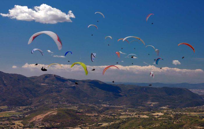 Europei deltaplano, ennesimo trionfo azzurro nei cieli della Macedonia