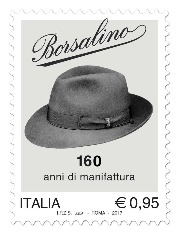 Il Ministero emetterà un francobollo dedicato alla Borsalino per il 160mo della fondazione
