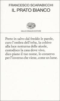 Nei giardini d'inverno con la poesia di Francesco Scarabicchi (Un libro sul sofà, rubrica di Giovanni Nacca)