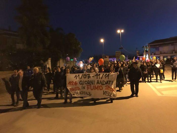 Ilside, grande successo per la marcia popolare organizzata dal Comitato Bellona/Triflisco