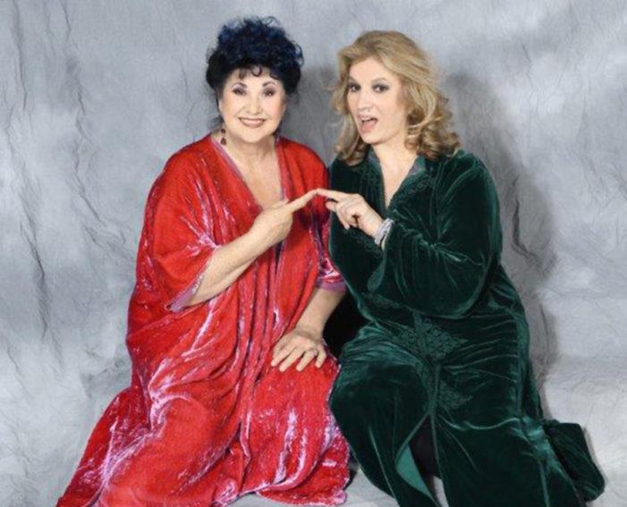 """Giovedì 16 novembre: Marisa Laurito e Iva Zanicchi in """"Due donne in fuga"""", inaugurano la stagione teatrale 2017/2018 del Teatro Ricciardi"""