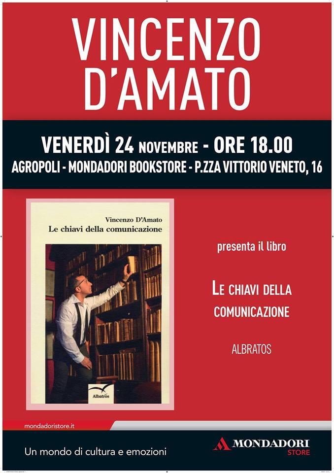"""Vincenzo D'Amato presenta """"Le chiavi della comunicazione"""""""