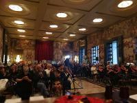 Al Salone dei Marmi di Salerno riconoscimento all'ambasciatore del sorriso Angelo Iannelli