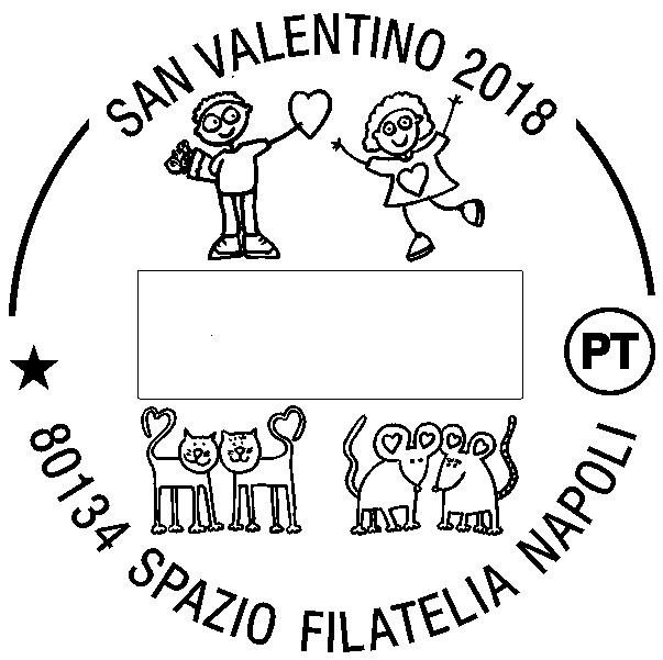 """Poste italiane dispone un servizio di annullo filatelico figurato specifico per """"San Valentino 2018"""""""