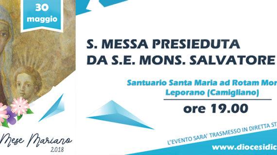 Il mese mariano si chiude a Santa Maria ad Rotam Montium nella frazione di Leporano