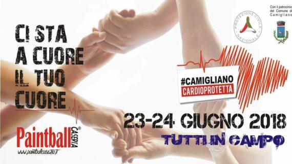 """Camigliano, il 23 e il 24 giugno si svolgerà il progetto """"Ci sta a cuore il tuo cuore"""""""