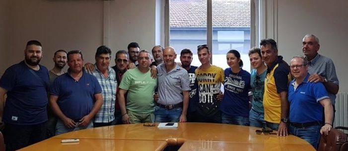 La neo Amministrazione comunale di Vitulazio, con il delegato Salvatore Russo, incontra il folto e motivato gruppo di volontari della Protezione Civile Vitulatina