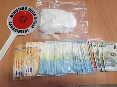 50enne trovato in possesso di eroina, cocaina e quasi 7000 euro