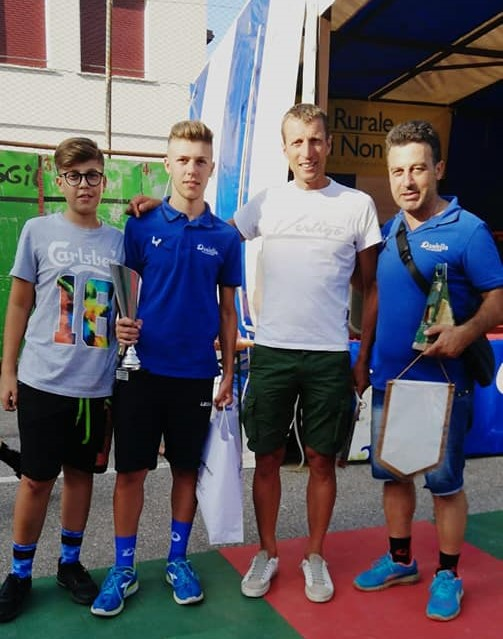 D'Aniello Cycling Wear, ottimi piazzamenti su più fronti tra Trentino, Lazio e Campania