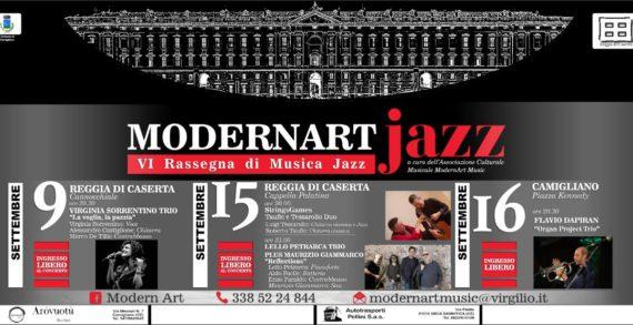 Manca poco alla VI rassegna di musica jazz organizzata dalla ModernArtMusic