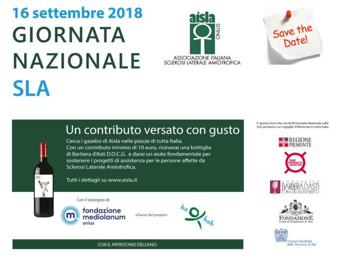 Caserta, il 16 settembre si celebra la Giornata Nazionale per la lotta alla SLA