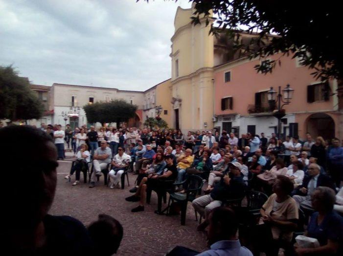 Pignataro Maggiore, le lotte ambientali nell'Agro caleno si sono unite nell'assemblea di piazza Umberto I