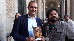 Napoli, inizia il viaggio per l'Italia di Huko