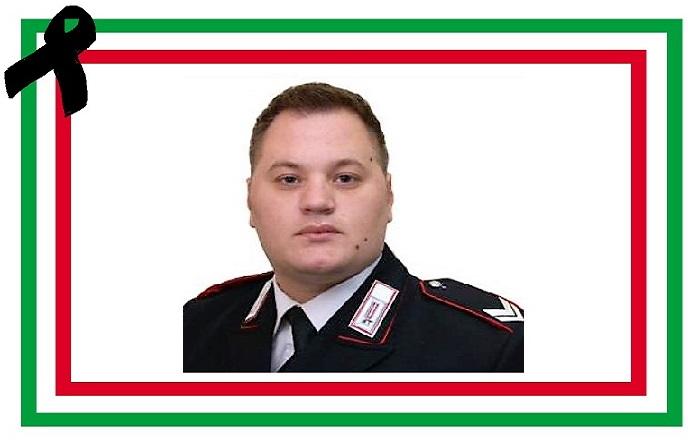 Tragica morte del Vice-Brigadiere dei Carabinieri Emanuele Reali: il cordoglio dell'Arma