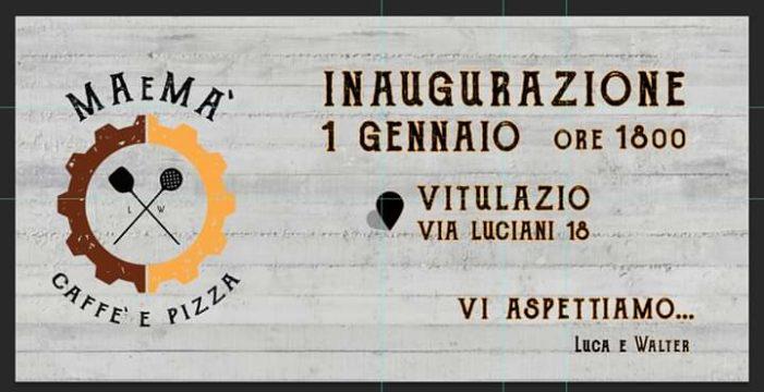 """Dal talento di un barman e l'abilità di un pizzaiolo in via Luciani apre il """"Maema' – Caffè & Pizza"""""""