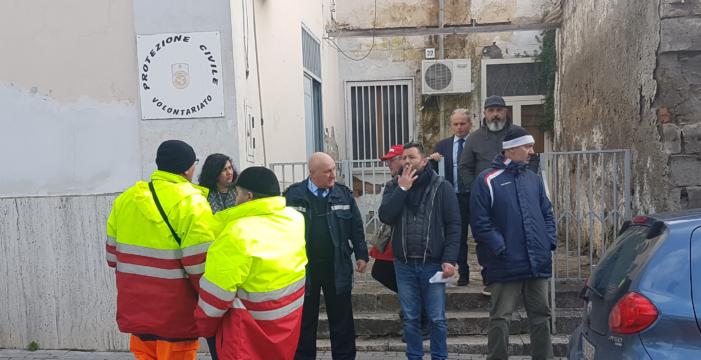 Guarino della Fiadel ha richiesto l'intervento urgente dell'ASL e dei Carabinieri del Noe sul cantiere vitulatino dalla nettezza urbana