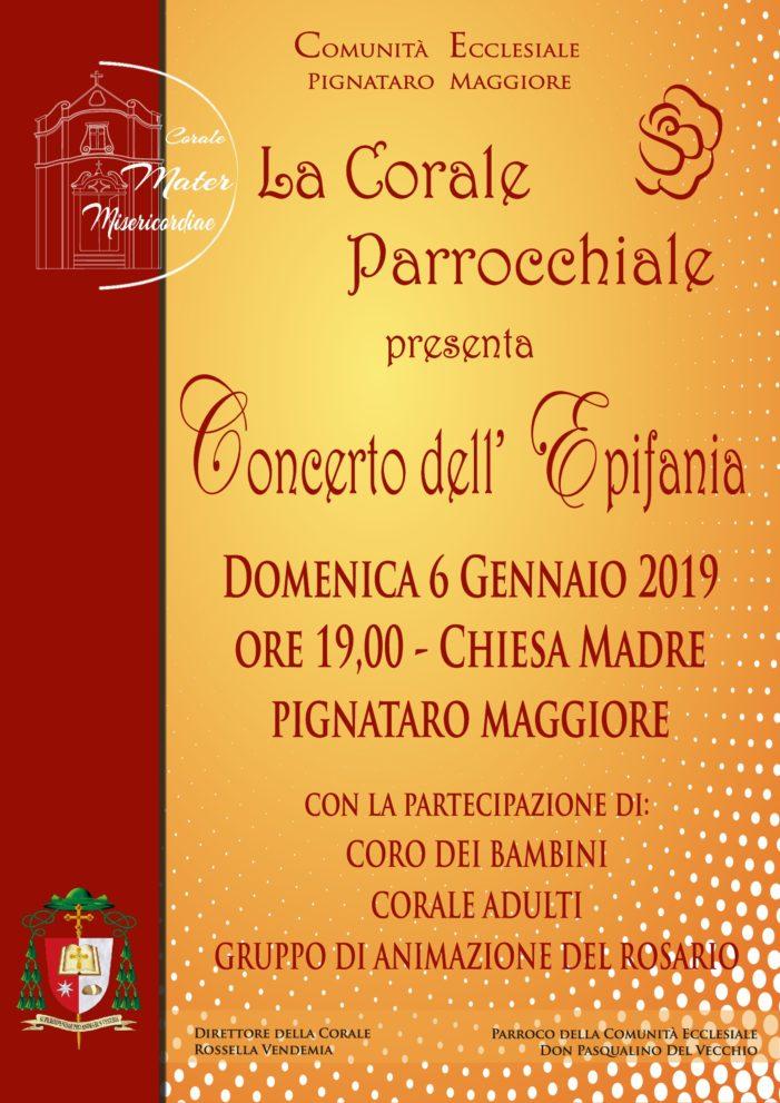 Pignataro, il 6 gennaio il Concerto della Corale Parrocchiale Mater Misericordiae