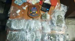 44enne arrestato per possesso di cocaina, marijuana e hashish/Un 25enne fermato per detenzione di droga