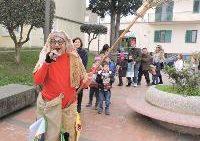 Emozionate Befana a Mariglianella della Vesuvius con Angelo Iannelli e Mago Pepe