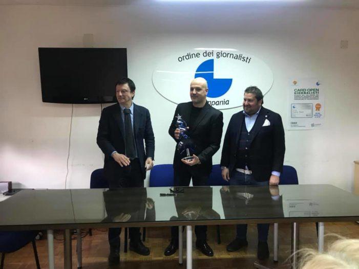 Premio Alma 2019, l'Ordine dei giornalisti lo assegna al giornalista Salvatore Minieri