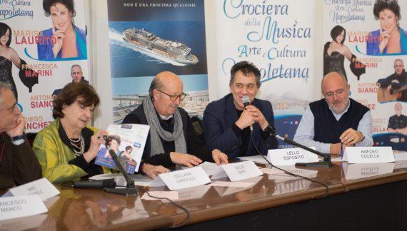 Presentata la dodicesima edizione della crociera della musica napoletana: il turismo emozionale a Napoli
