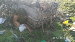 Ancora rifiuti abbandonati e combusti in discariche illegali