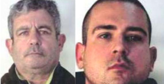 Condannati per minacce ed estorsione il figlio e il nipote del boss Lorenzo Nuvoletta
