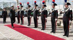 Napoli e Caserta: visita del Generale di Corpo d'Armata Angelo Agovino