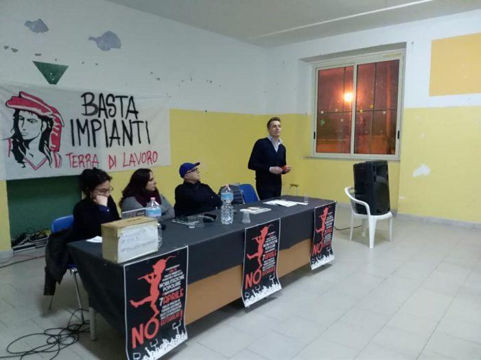 Pignataro, il dibattito sulla Terra dei fuochi in attesa della mobilitazione del 7 aprile