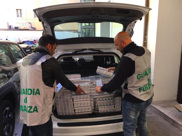 Sequestrato un carico di oltre 2 quintali di sigarette di contrabbando: arrestato l'autista