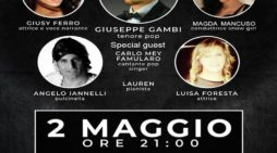 """Da un'idea di Gambi e Iannelli al San Carluccio """"Pulcinella incontra Caruso"""""""