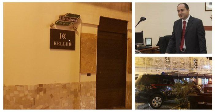 """Ancora pregiudicati e droga nel bar """"Keller"""" di Piazza Riccardo II, il Questore Borrelli lo fa chiudere per la seconda volta in soli quattro mesi"""