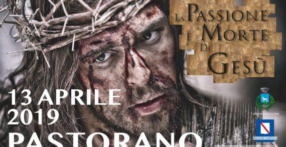 """Pastorano, il 13 aprile la tredicesima edizione della """"Morte e Passione di Cristo"""""""