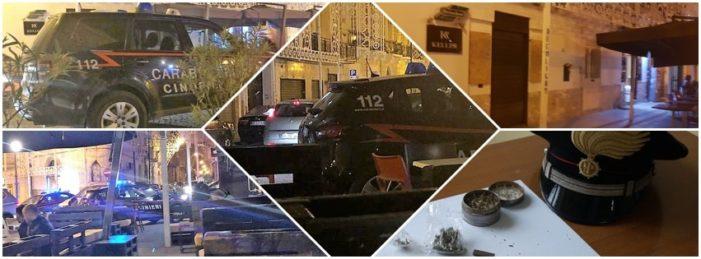 """Arrestato Genny del Bar Keller. I Carabinieri con i cani antidroga trovano un panetto di hashish di circa 100 grammi nel noto locale della """"movida vitulatina"""""""