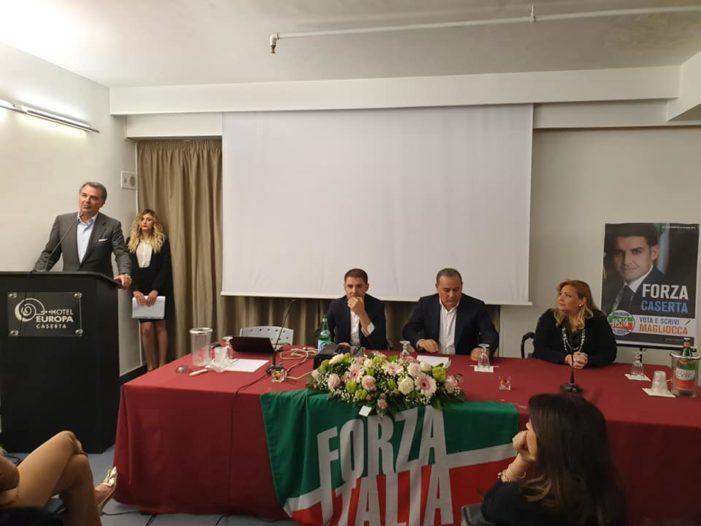 Partita la campagna elettorale di Magliocca per le elezioni europee: a Caserta una delegazione pignatarese