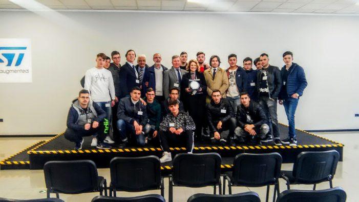 La Multinazionale STMicroelettronics di Marcianise ospita gli studenti gli Studenti dell'ITI Buccini – Ferraris