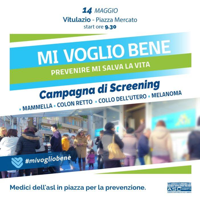 """Vitulazio, """"Mi voglio Bene"""": parte la campagna di prevenzione contro i tumori realizzata dalla Regione"""
