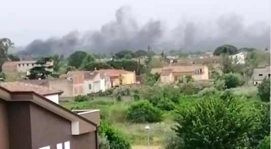 Bellona, anche in tempo di Covid19 riprendono gli incendi in località Ferranzano