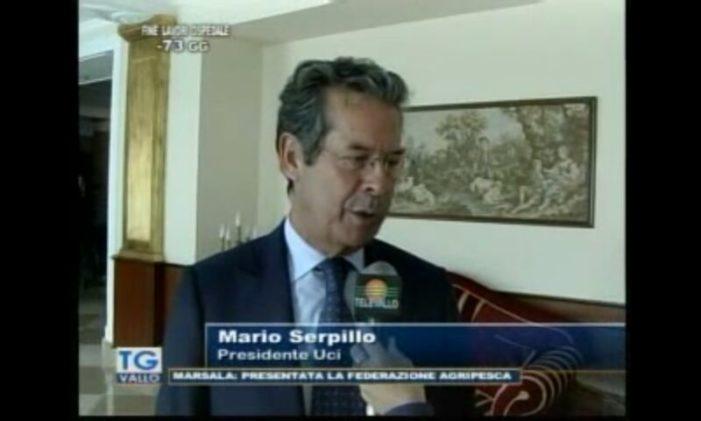 Gli auguri di Baldassarre Borrelli al nuovo presidente provinciale dell'Uci di Caserta, Angelo Maria Lettera