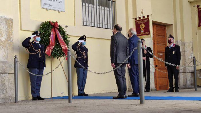 Celebrato a Caserta il 169° anniversario della fondazione della Polizia di Stato