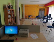 Tutto pronto per il centro vaccinale che ospiterà i cittadini dei comuni di Camigliano e di Pastorano