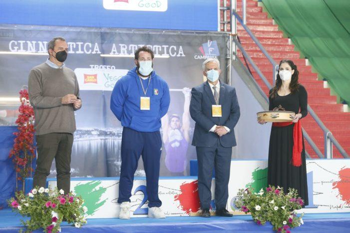 Trionfo di Ginnastica Campania 2000,  premio speciale ad Andrea Maria Quarto di Casagiove