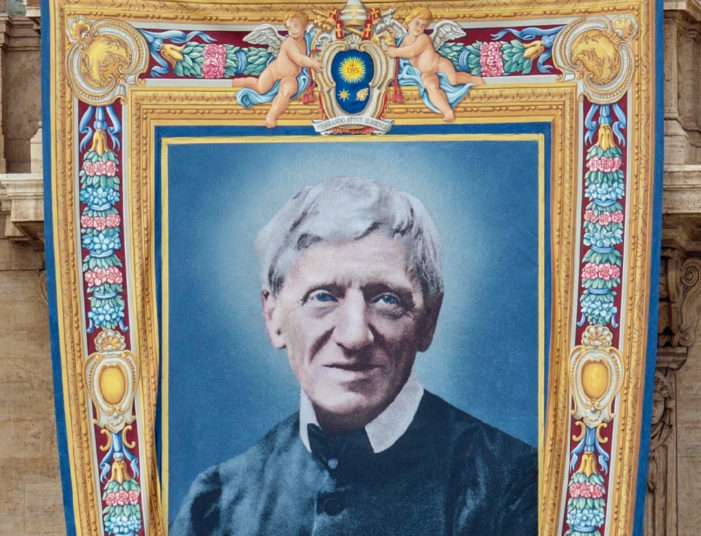 L'autobiografia del cardinale John Henry Newman, canonizzato da Papa Francesco