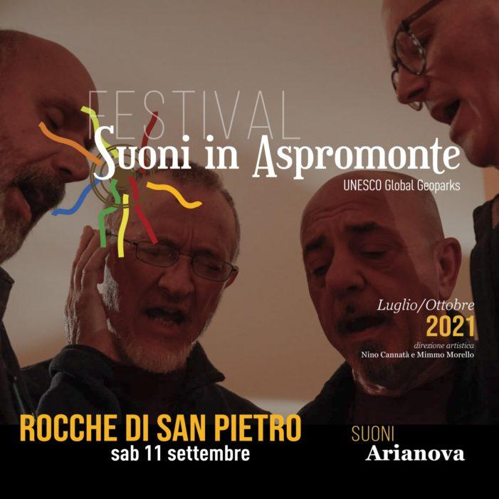 """Gli """"Arianova"""" ambasciatori della cultura tradizionale calena a """"Suoni in Aspromonte"""""""